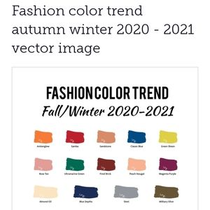 2020-2021 Fall Winter Color Palette Trends To Help
